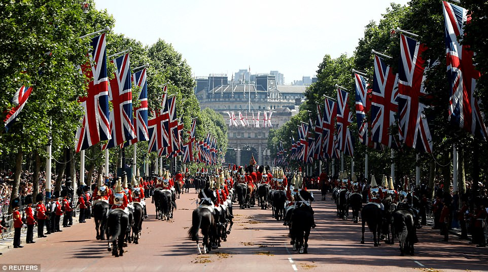 Trooping the Colour 20182