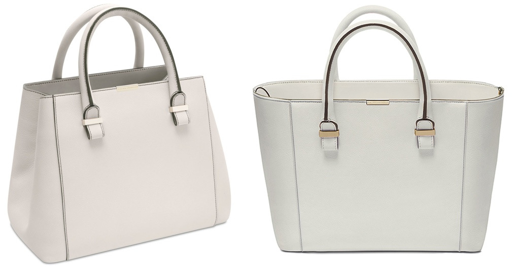 Victoria Beckham Quincy Leather Tote